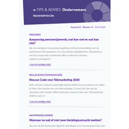 e-Tips & Advies Ondernemers